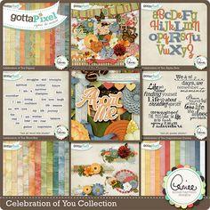 Celebration of You Collection :: Gotta Grab It :: Gotta Pixel Digital Scrapbook Store by Aimee Harrison