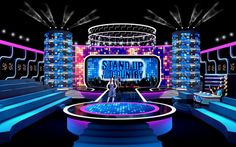 Stage design, tv show, concept