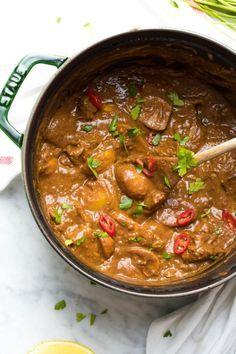 Indiase kipcurry met aardappels — Receptenmaker