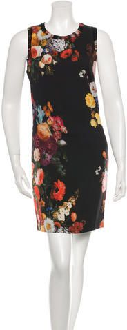 Dolce & Gabbana Floral Baroque Shift Dress