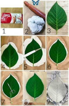 Clay Leaf Bowls - Easy DIY Project - 2 Bees in a Pod - Lynne's board #christmasscarf #scarf #decoration<br> Clay Crafts For Kids, Crafts For Teens To Make, Fall Crafts, Crafts To Sell, Diy And Crafts, Sell Diy, Kids Diy, Air Dry Clay Ideas For Kids, Decor Crafts