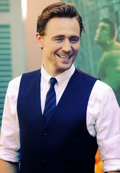 I don't often go all fan girl, but when I do, it's because Tom Hiddleston. Saucy minx.