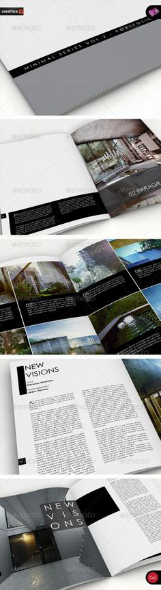 Minimal Series - Portfolio Book Vol.2 - A4 - GraphicRiver Item for Sale