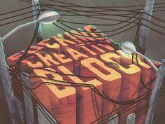Creative Block by Flavio Montiel