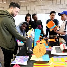 art & eden's local impact program involves providing creative engagement with the kids of the Camden Street School. So, we took a field trip to the Abrons Arts Center.   buy better. do better.