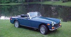 restoring my dad's MG Midget that has been sitting in the garage for 20 years, destined to look like this once again...