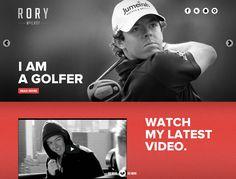 Rory McIlroy website