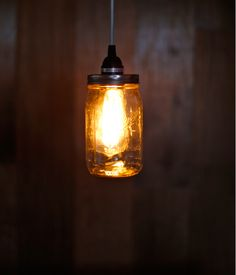 34 brilliant trash to treasure diy home projects to brighten any mason jar crafts vintage pendant lighting be amazed by how this simple and beautiful solutioingenieria Images