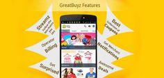Earn Free PayTm Cash through GreatBuyz Shopping App - http://goo.gl/8h1TYT