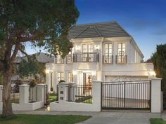 18 Hardwicke Street, Balwyn, Vic View property details and sold price of 18 Hardwicke Street & other properties in Balwyn, Vic Model House Plan, House Plans, Dream Home Design, My Dream Home, Mansion Plans, House Gate Design, Dream House Exterior, Mediterranean Homes, House Layouts