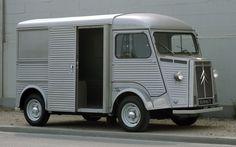 Citroen H van. #car #auto #automotive #van #metal #silver