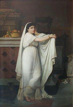 Una vestal - Giovanni Mochi