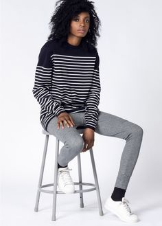 The perfect design to transition your wardrobe into any season, this slouchy sweater has a relaxed fit that is great for layering. By Barney Cools via Wildfang.com