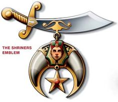 ... fez, the crescent and scimitar, is an important part of the fraternity's theme, and is representative of the characteristics embodied by the Shriners.