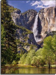 Yosemite Falls.  By Mike Jones.