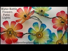 Recycled Water Bottle Crafts - DIY