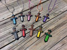 15 Piece Boys Mini Sword Necklace W/ by LittleShoppeofPixels