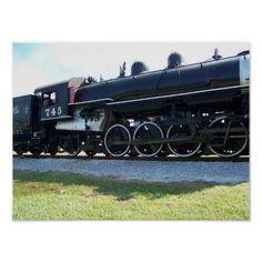 Steam Engine Print