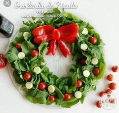 Sweet Home: Vahvad salatid(talvised) Elf Christmas Decorations, Christmas Party Food, Xmas Food, Christmas Appetizers, Christmas Goodies, Christmas Treats, Christmas Time, Crudite, Weird Food