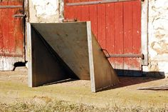 Homemade Shooting Range Backstop This trap is made of 1 4