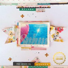 Product Spotlight *Crate Paper - Poolside* by Jennifer McMurtrey