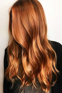 Natural Copper Balayage ❤️ A dark, light, ombre. - - Natural Copper Balayage ❤️ A dark, light, ombre or balayage copper hair ide. Hair Color Shades, Hair Color Dark, Cool Hair Color, Dark Hair, Hair Colors, Hair Lights, Balayage Hair Copper, Copper Ombre, Copper Red