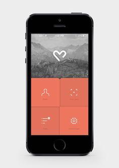 Sensum // Application Design by Petter Myhr (via Creattica)