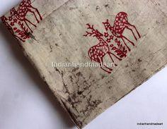 10 Yard Hand Block Print 100% Cotton Fabric mud resit  Dabu Print Soft Fabric 03 #Handmade