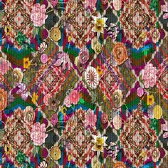 Christian Lacroix Designer Fabric CONSTANTINE ARLEQUIN