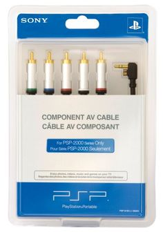 Sony Computer Entertainment Psp-2000 Av Cable, 2015 Amazon Top Rated Cables & Adapters #VideoGames