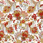 American Folk Tullaries Orange Cotton Lawn [SR-2349-2] - $9.95 : Pink Chalk Fabrics is your online source for modern quilting cottons and sewing patterns., Cloth, Pattern + Tool for Modern Sewists