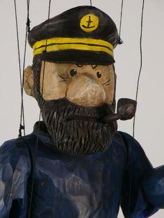 Designer puppets. Each doll marionette is a unique designer work handmade by a Czech artist!