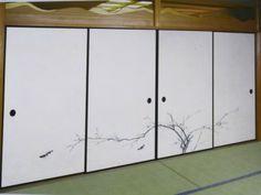 bemaltes Japanpapier für Fusuma