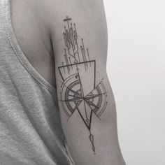 166 Sacred Geometric Tattoo Designs, Meanings And History cool  Check more at https://tattoorevolution.com/geometric-tattoos/