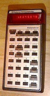 calculators were cutting edge, expensive, and a BIG deal