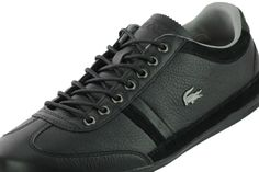 finest selection 74ebb d7740 Men Trainers Sneakers Lacoste Lace Up Leather Top Lo Black Marcel Casual  Remix  Lacoste