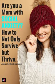 Being a mom with social anxiety can be twice as hard. Now you have to avoid your own social situations as well as your child's. I talk about how to crush social anxiety and get your happiness back.
