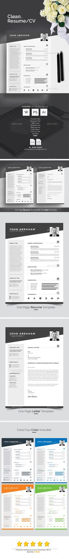 Infographic Resume Bundle Infographic resume, Infographic and - resume layout template