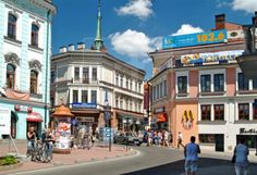 Visit Tarnow, Poland with my mom this year