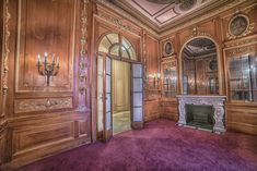 Inside The Empty, Gilded Halls Of Elkins Estate Architecture Old, Historical Architecture, Architecture Details, Old Mansions Interior, Mansion Interior, Staircase Drawing, Elkins Park, Old Victorian Homes, Mansion Designs