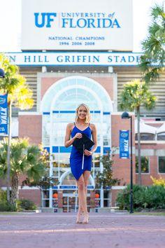 Grad Pics, Graduation Pictures, Senior Pictures, Florida Gatora, Senior Photography, Portrait Photography, University Of Florida, Picture Ideas, Strapless Dress