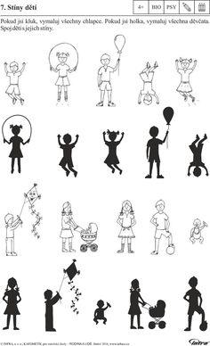 Tematické pracovní listy s metodikou pro mateřské školy RODINA A LIDÉ - PDF Free Download Diy Games, Baby Play, Children, Kids, Education, World, School, Character, People