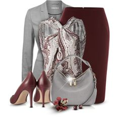 Primp the Paisley, created by jenalind on Polyvore
