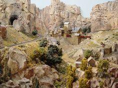 Sam Posey model railroad