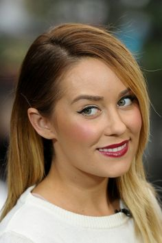 0ab3d1b42fb Take a style cue from Lauren Conrad and pin the shorter side behind your  ear. You can also dress up the look with a decorative hair accessory.