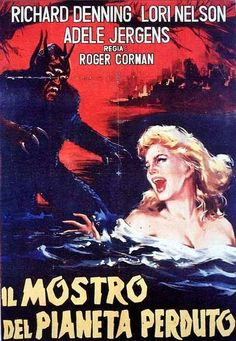 DAY THE WORLD ENDED 1955 Italian poster