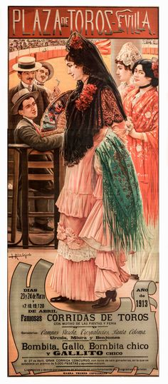1000 images about poster spain bullfight on pinterest - Ropa vintage sevilla ...
