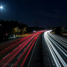 Long Exposure Motorway, first attempt by S Totti Phoyography - Canon 600d