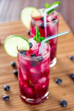 Daydreaming about that blueberry mojito.