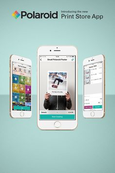 With the Polaroid Print Store app, you can upload right from your iPhone and turn them into works of art. From posters and prints to accordion books and stickers, you can now easily share life's favorite moments in true Polaroid style.